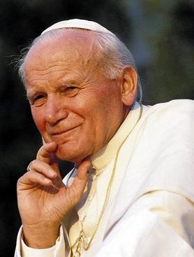 Papa Giovanni Paolo II. 15.07.1990 Introd in Valle d'Aosta durante le vacanze.